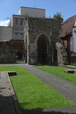 thomas stone: Remains of Chapel of St Thomas a Becket, Brentwood, Essex