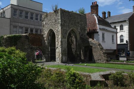 essex: Remains of Chapel of St Thomas a Becket, Brentwood, Essex
