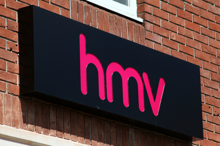 HMV shop sign, Colchester, Essex
