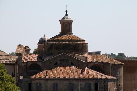 tuscania: Church of St Lorenzo, Tuscania, Italy