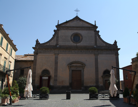 etruscan: Tuscania Cathedral, Tuscania, Italy