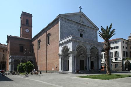 grande: Livorno Cathedral, Piazza Grande, Livorno, Italy