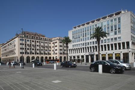 grande: Piazza Grande, Livorno, Italy Editorial