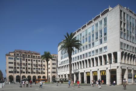 livorno: Piazza Grande, Livorno, Italy Editorial
