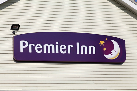 inn: Premier Inn sign Editorial