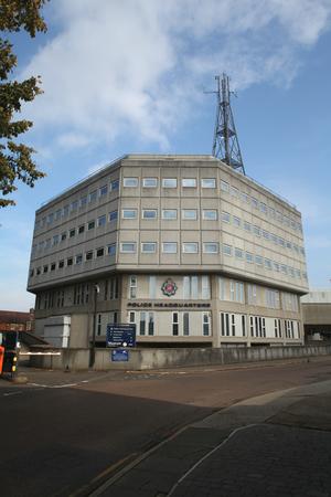 headquarters: Essex Police Headquarters, Chelmsford, Essex