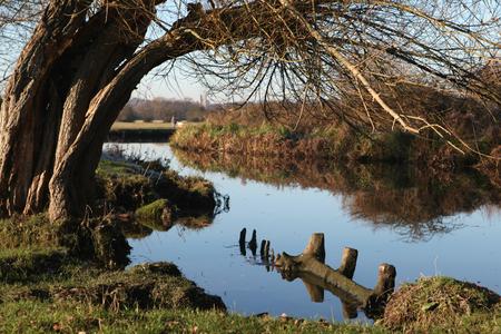 constable: River Stour, Flatford, Suffolk