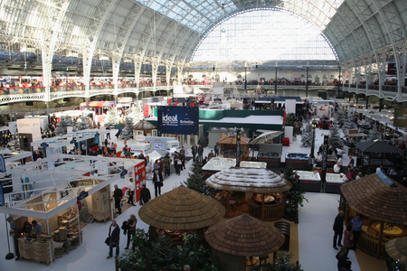 2016 Ideal Home Exhibition at Christmas, Olympia, London