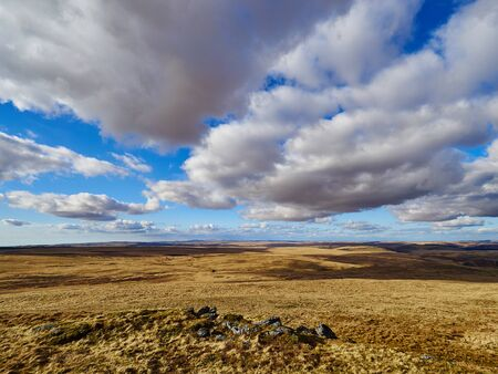 The Welsh Desert - A large area of mid Wales UK that is barren mountainous moorland devoid of any visible habitation or plants other than rough grass.