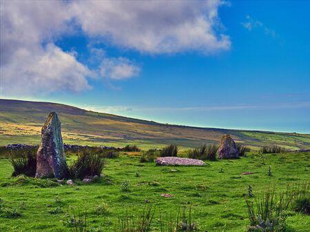 Bronze Age Standing Stones at Morva