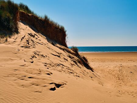 Sand Dune and Beach Traeth Penrhos Anglesey