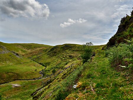 Off the Beaten Track in a Welsh Valley Imagens