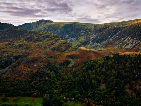 Summit of Cadair Idris and the Minffordd Path