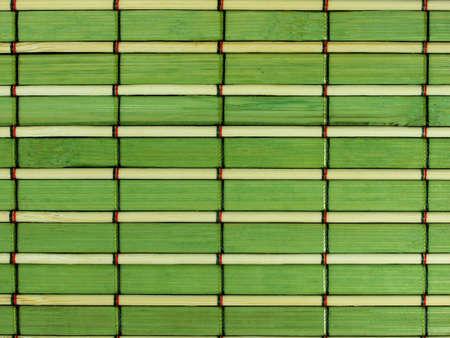 green bamboo panel