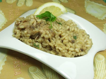 rabit: risotto whit rabit