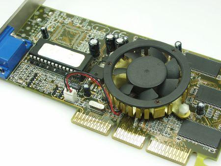 video card close up photo