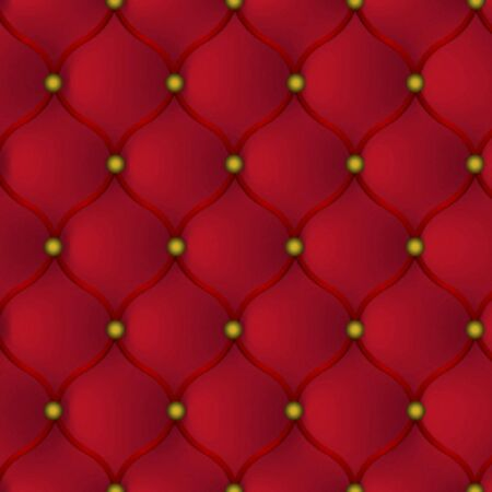 human skin texture: beautiful red skin leather furniture in the background Illustration