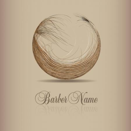 sal�n: dise�o para el logotipo de pelo Vectores