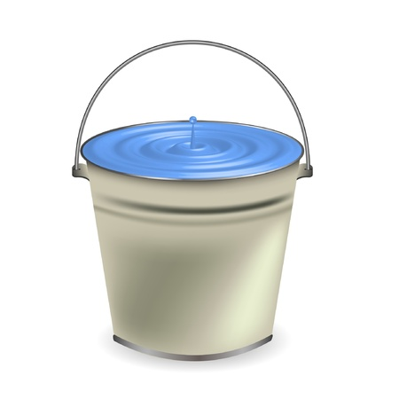 pail: a bucket of water for your design