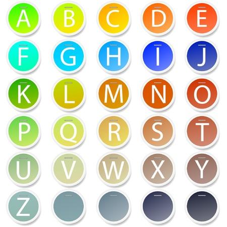 Vector alphabet for your design Stock Vector - 11275502