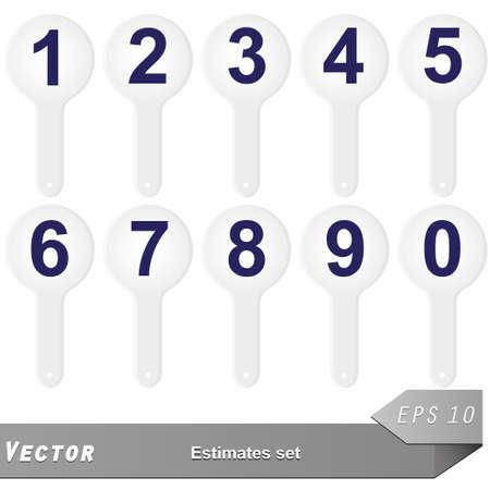 estimate: vector estimate set for your design