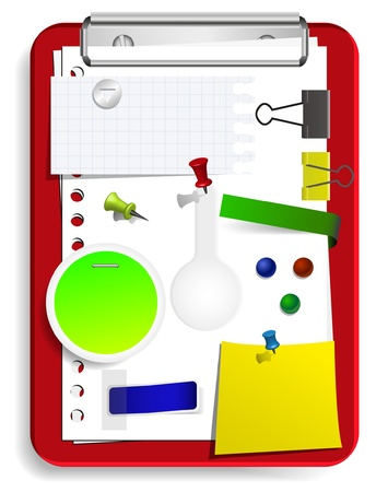 vector clipboard set for your design Stock Vector - 11275631