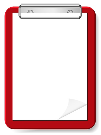 vector blank clipboard for your design