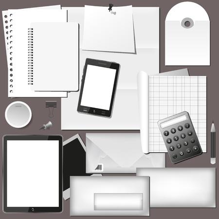 vector set d'entreprise pour votre conception. Illustration Vecteurs
