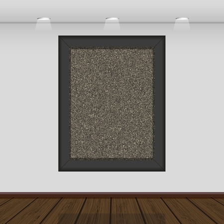 Vector interior gallery with space for your picture or photo Stock Vector - 11275695