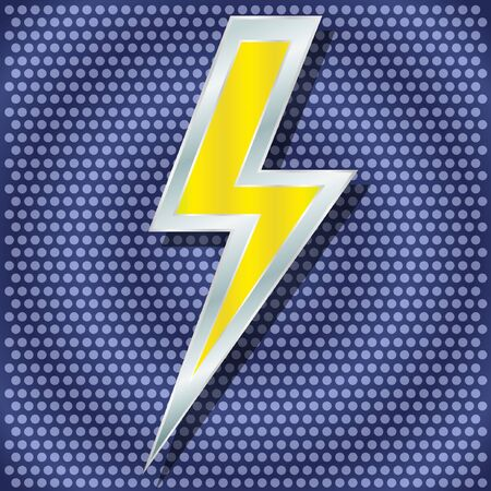 thunder storm: Vector lightning for your design