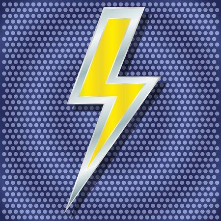 rayo electrico: Vector rayo para su dise�o Vectores