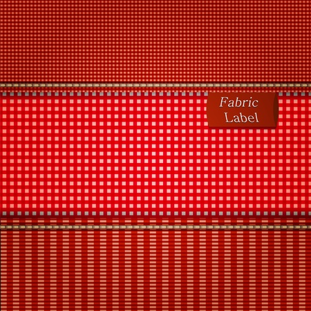 Fabric background for your design. Vector