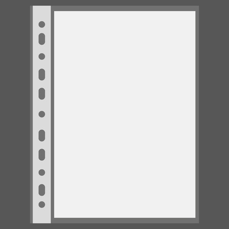 Vector file and blank sheet with place for your text Stock Vector - 11376913
