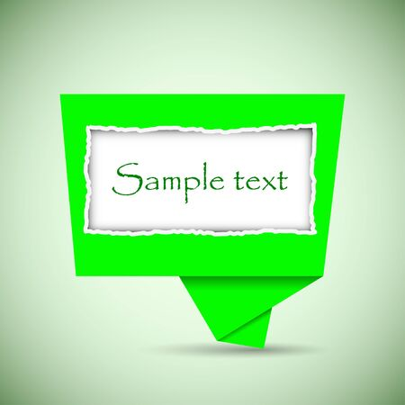 Vector bubble speech with place for your text. Best choice Vector