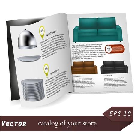 Vector de catálogo para su diseño. La mejor opción