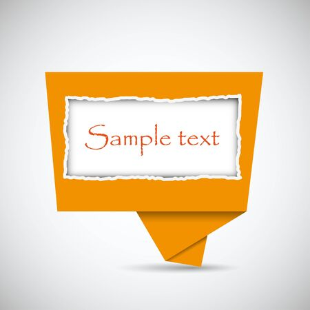 Vector buuble speech with place for your text. Best choice Vector
