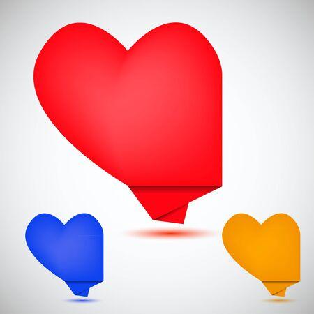 dialog baloon: Concept heart bubble speech. Vector illustration. Best choice