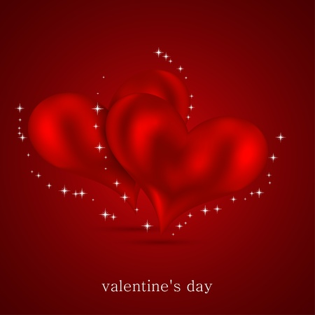 Valentines day background. Vector illustration. Best choice Vector