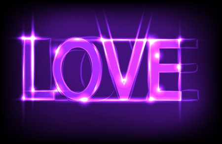 Love abstract background. Best choice Vector