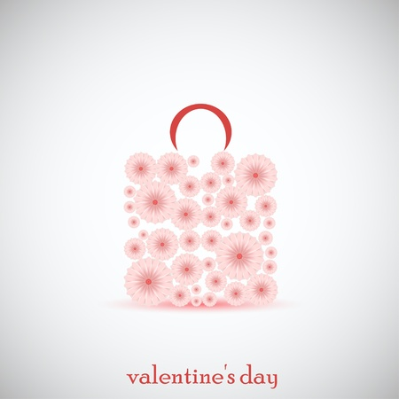 Creative flowers packet for valentine's day. Vector illustration. Best choice Stock Vector - 11659699
