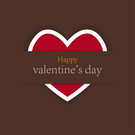 valentines day background with place for your test. vector illustration. Best choice Vector
