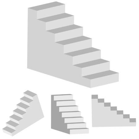 stepladder: vector ladder for your design