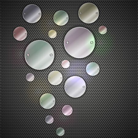 Abstract metal background. Vector illustration. Best choice Vector