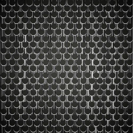 metal grid background. Vector illustration Vector