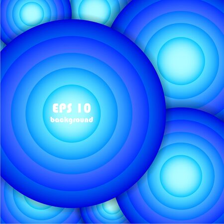 Circle abstract background. Vector illustration