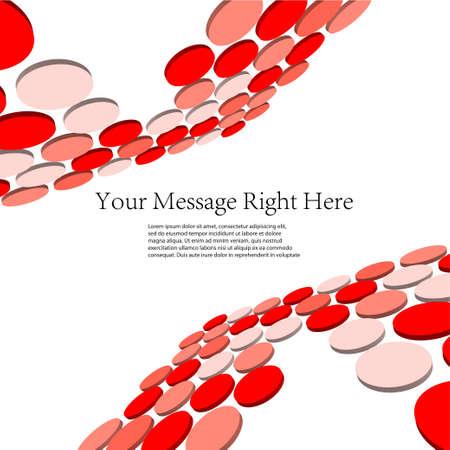 digitally generated image: Creative 3d business background. Vector illustration Illustration