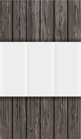 viejo oeste: tabla de madera con papel. Vector de fondo con lugar para el texto