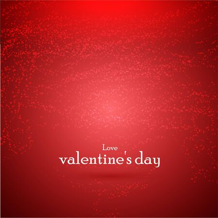 valentines day background. Vector illustration Vector