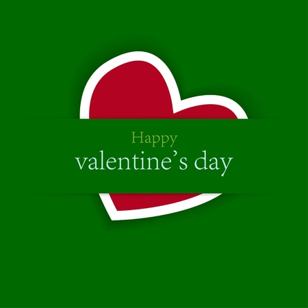 valentines day background with place for your text Vector