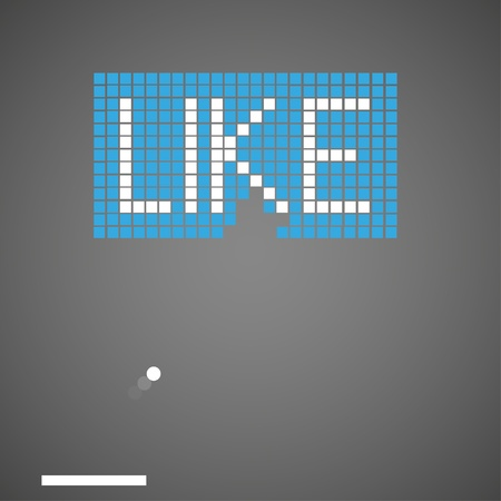 like in a game. illustration Stock Vector - 12231696